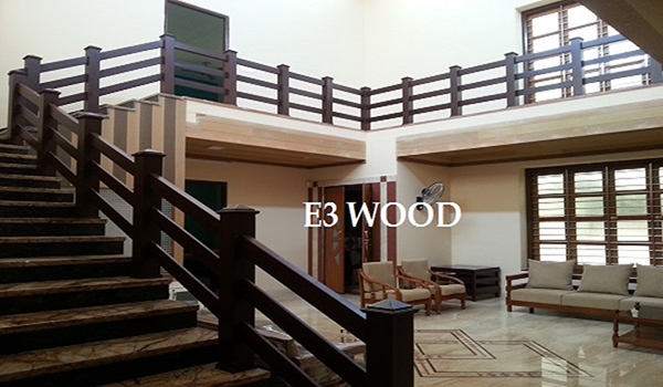 Wooden Railing Components