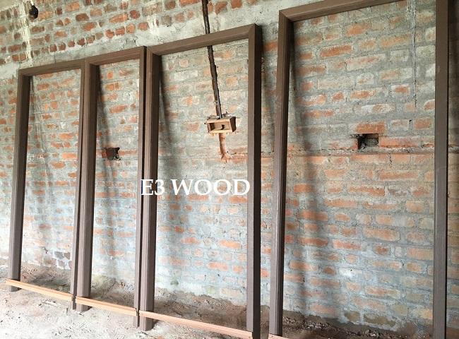 Wooden door frame price India - E3Wood